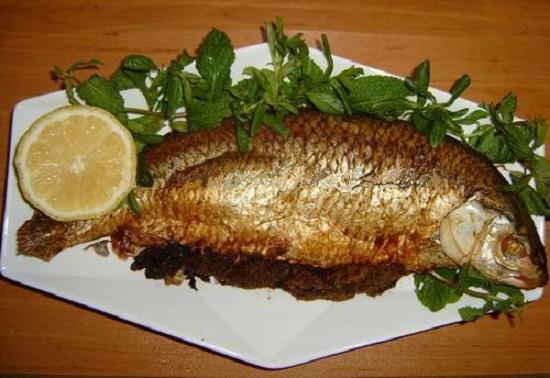 تزیین-ماهی-قزل-الا-سبلللللللیل
