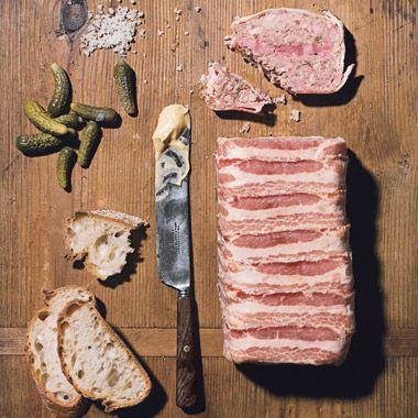خوراک گوشت استیکی با فیله و ژامبون