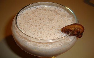 نوشیدنی شیر و انجیر خشک