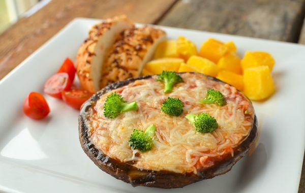 پیتزای قارچ پورتوبلا برای بچه ها2