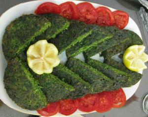 تزیین های جالب کوکو سبزی