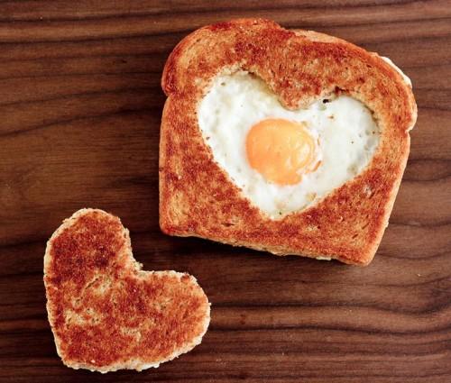 تزیین تخم مرغ نیمرو