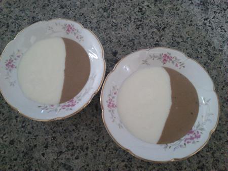 مدل تزیین فرنی و شیر نشاسته