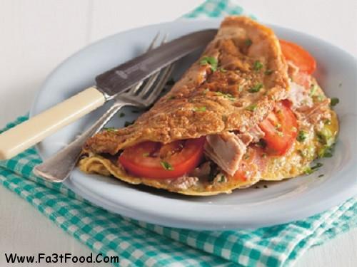 tuna-omlette