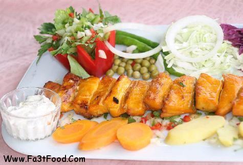 ماهی استروژن کبابی