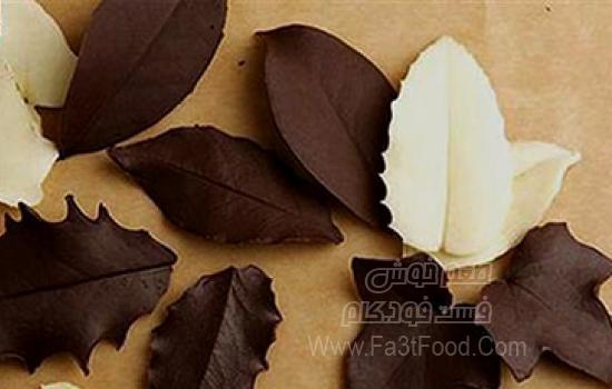 برگ شکلاتی