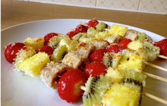 کباب میوه ای