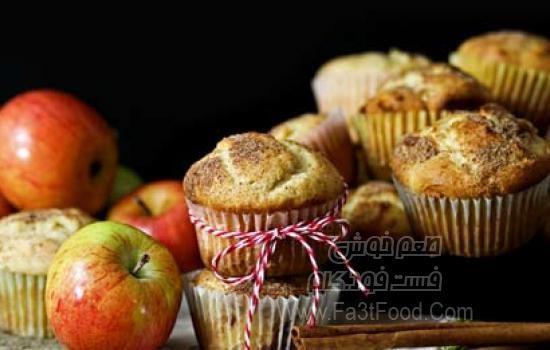 181184-طرز-تهیه-مافین-سیب