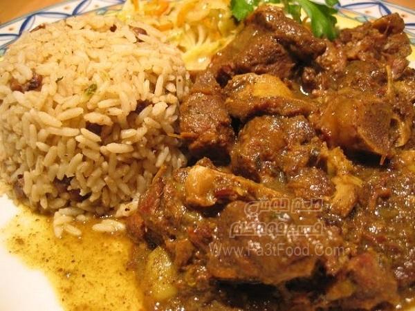 پلو مرغ آفریقایی
