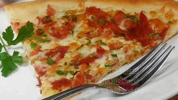 پیتزا کلم بروکسل
