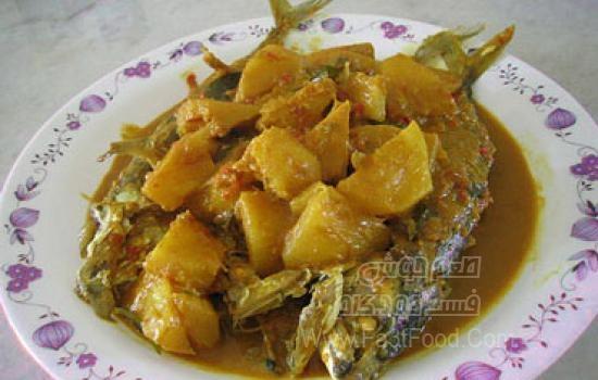 خوراک ماهی و آناناس