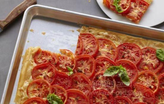 تارت گوجه فرنگی