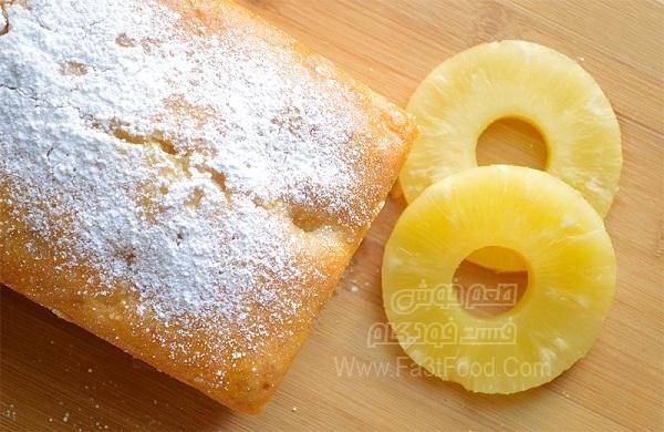 کیک آناناس دوبل