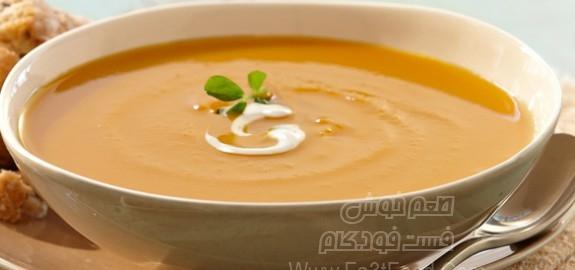 سوپ کدو حلوایی