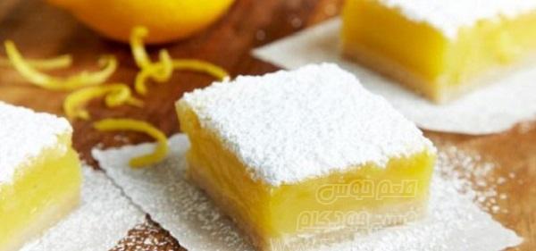 دسر نوار لیمویی