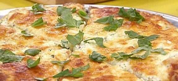 پیتزا سفید