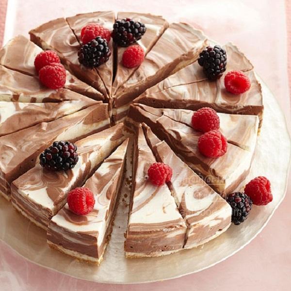 چیز کیک شکلاتی