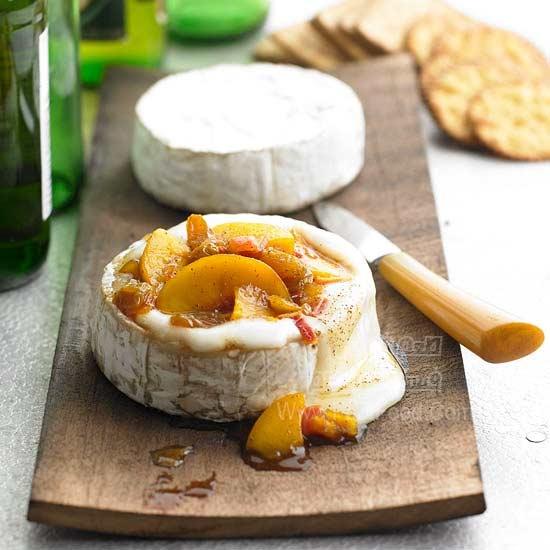 اسنک پنیر بری با عطر سرو