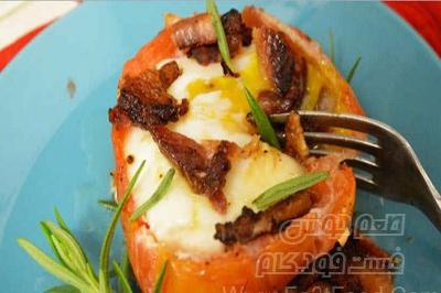گوجه فرنگی شکم پر