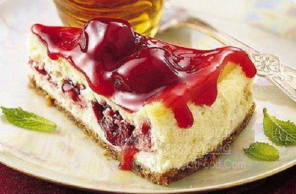 چیز کیک یخچالی