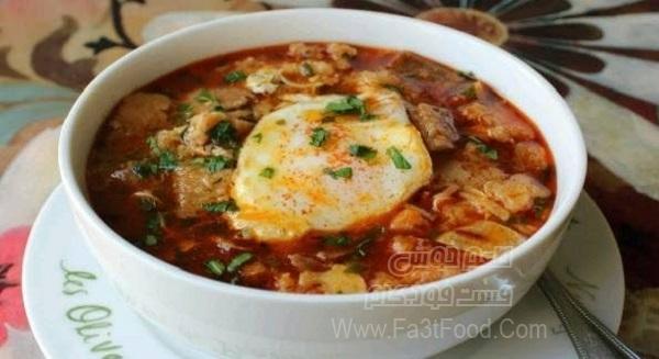 سوپ سیر اسپانیایی