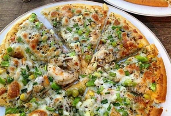 پیتزا میگو اسپایسی