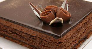 تهیه چیز کیک شکلاتی برای دسر