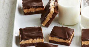طرز تهیه چیز کیک کره بادام زمینی و شکلات