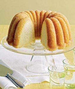 تهیه ی کیک لیمو و آرد ذرت