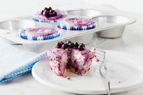 مینی چیز کیک بلوبری