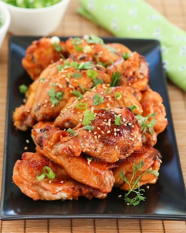 ران مرغ کبابی کره ای