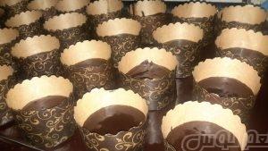 کیک مافین شکلاتی معروف