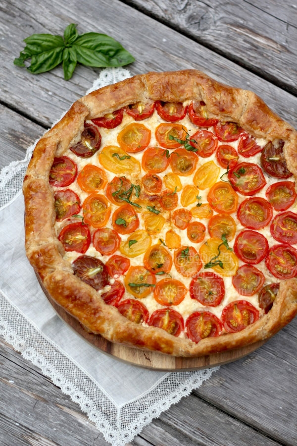 اسنک گوجه فرنگی لذیذ