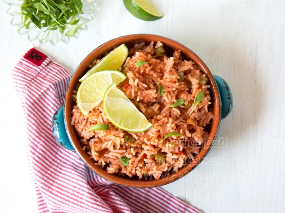 برنج مکزیکی تند