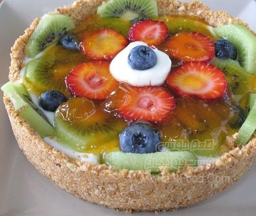 تارت میوه ای سریع پخت