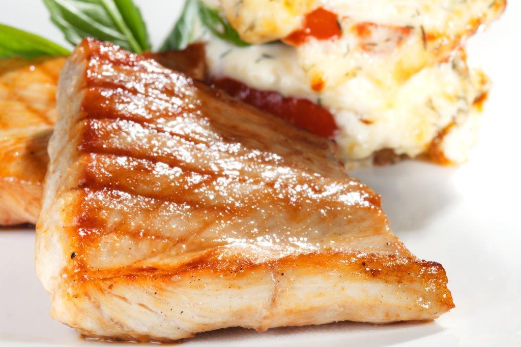 استیک ماهی مقوی