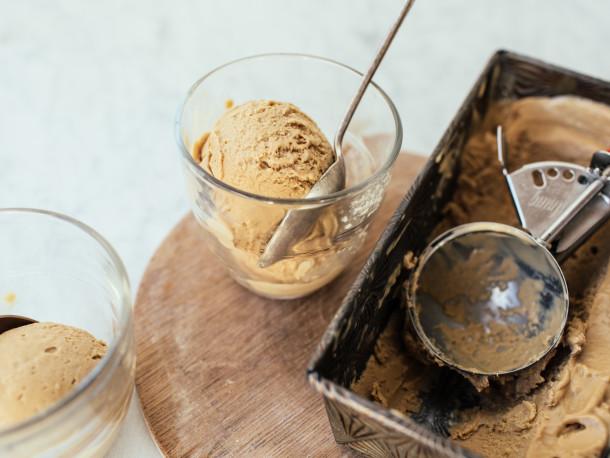 بستنی کافه ای خانگی