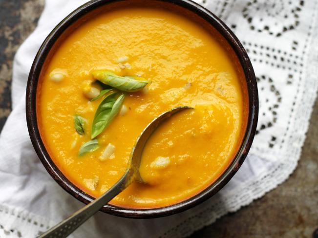 سوپ هویج تازه