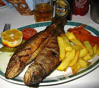 ماهی دودی خوش طعم