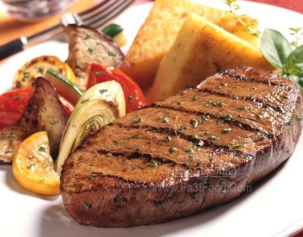 استیک گوشت گاو چیلی