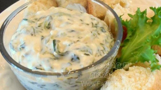 کنگر فرنگی و اسفناج پنیری