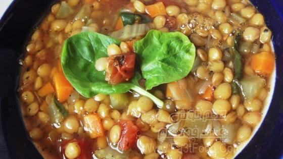 سوپ حبوبات سالم