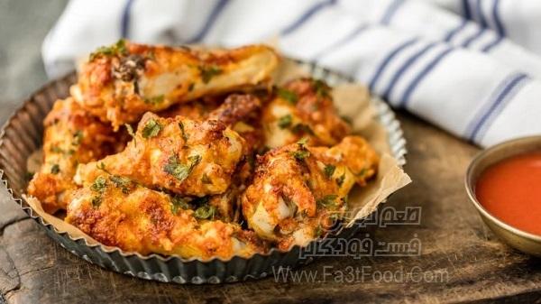 کباب کتف مرغ در فر