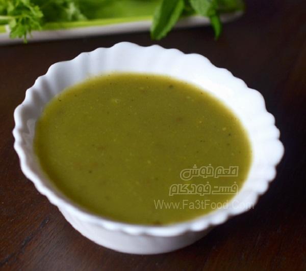 سوپ کدو سبز زیبا