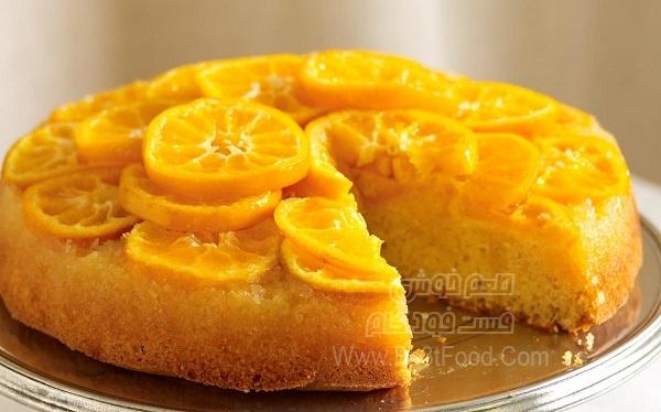 کیک نارنگی زمستانی