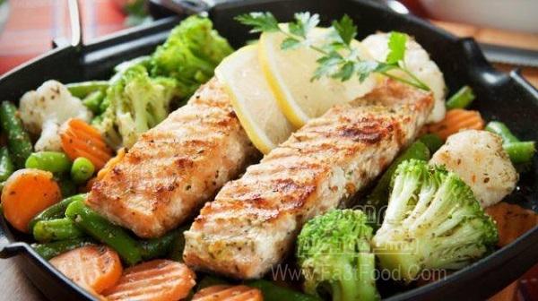 کباب ماهی شیر