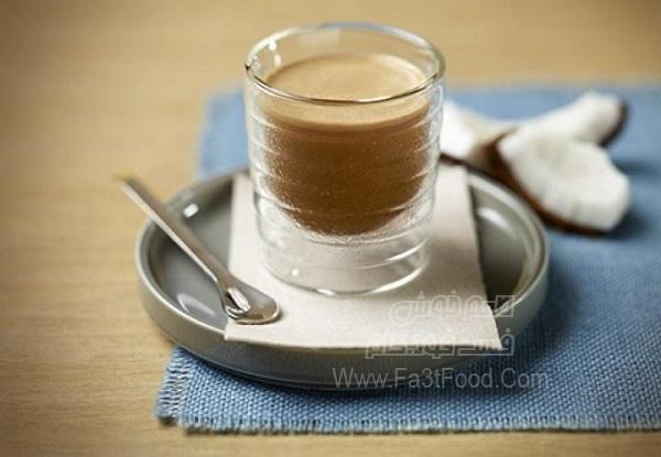 اسموتی موز و قهوه